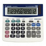 Canon TX-220TS Mini Desktop Handheld Calculator, Solar/Battery, 12 Digit Display