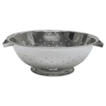 "Admiral Craft Stainless Steel Colanders 11 1/2"" diameter"