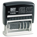 Consolidated Stamp 2000 PLUS Micro Message Dater, Self-Inking