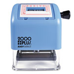 Cosco 2000 PLUS ES Line Dater, RECEIVED, Red/Blue