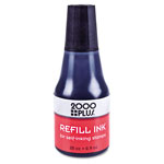 Consolidated Stamp 2000 PLUS Self-Inking Refill Ink, Black, .9 oz Bottle