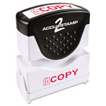 "Cosco Accustamp Shutter, ""Copy"", Red"
