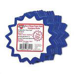 "Consolidated Stamp Write On ""Do It Yourself"" Signs, 4"" Round Burst, White/Blue, 60/Pack"