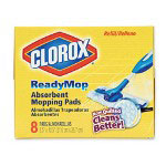Clorox Absorbent Cleaning Pads, 16 Pads per Pack