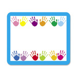 "Carson Dellosa Publishing Company Name Tags, Handprints, 3""x2 1/2"", 40/Pack"