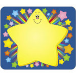 "Carson Dellosa Publishing Company Name Tags, Rainbow Star, 3""x2 1/2"", 40/Pack"