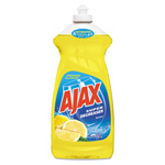 Ajax Liquid Dish Washing Soap, Lemon, 30oz
