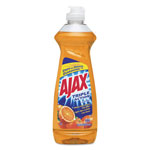 Ajax Dish Detergent, Orange Scent, 12.6 oz Bottle, 20/Carton