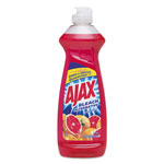 Ajax Dish Detergent, Grapefruit Scent, 12.6 oz Bottle, 20/Carton