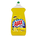 Ajax Dish Detergent, Lemon Scent, 52 oz Bottle, 6/Carton