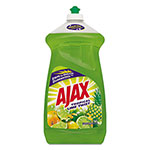 Ajax Dish Detergent, Tropical Lime Scent, 52 oz Bottle, 6/Carton