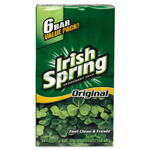Irish Spring® Bath bar soap, Clean Scent, 3.75oz, 6/Pack