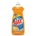 Ajax Dish Detergent, Antibacterial, Orange, 30 Oz Bottle, 9 per Case