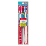 Colgate Palmolive 360 Full Head Soft Toothbrush Twin Pack, 2/Pack