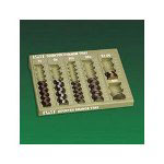 PM Company Counter Change Plastic Coin Tray, Pebble Beige