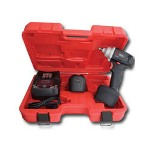 "Chicago Pneumatic 3/8"" Drive 12 Volt Cordless Impact Wrench Kit"