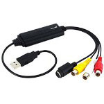 Startech USB To S-Video & Composite Audio Video Capture Cable w/ TWAIN Support