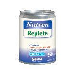 Nestle Replete Complete High Protein Vanilla 250mL Can