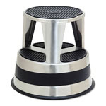 "Cramer Industries Kik-Step Stools, 16"" x 16"" x 14"" 300 lb Capacity, Stainless"