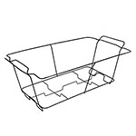 Maryland Plastics Kingsman Black Full Size Disposable Chafer Rack