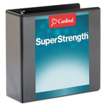 "Cardinal Brands ClearVue™ ClearVue™ 4"" View Binder, Black"