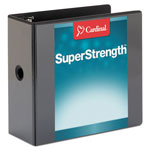 "Cardinal Brands ClearVue™ ClearVue™ 5"" View Binder, Black"