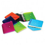 Cardinal 3 Hole Punched Expanding Binder File, Assorted Colors