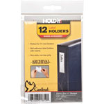 Cardinal Label Holder, 1'' x 3'', 12/Pack, Clear
