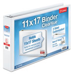 "Cardinal Brands ClearVue™ ClearVue™ 2"" View Binder, White"