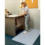 Ludlow Composites Cushion Step™ Vinyl Anti-Fatigue Mat, 3' x 5', Gray