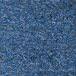 Ludlow Composites Rely On Vinyl Floor Mat, 2' x 3', Blue Marble