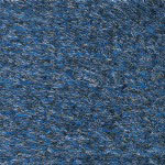 Ludlow Composites Rely On Vinyl Wiper Mat, 3' x 4', Blue Marble