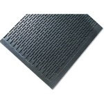 Ludlow Composites Crown-Tred Indoor/Outdoor Scraper Mat, Rubber, 35 1/2 x 59 1/2, Black