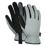 Memphis Glove 913 Multi-Task Gloves, Large, Gray/Black