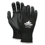 Memphis Glove Cut Pro 92720NF Gloves, Large, Black, HPPE/Nitrile Foam