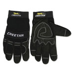 Memphis Glove Cheetah 935CH Gloves, Large, Black