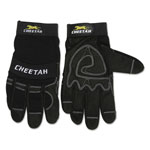 Memphis Glove Cheetah 935CH Gloves, Small, Black