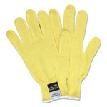 Memphis Glove 9370 Dupont Kevlar String Knit Gloves, 7 gauge, Yellow, Large, 1 dozen