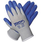 Crews Memphis Flex Seamless Nylon Knit Gloves, Large, Blue