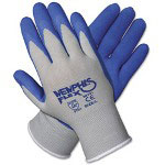 Crews Memphis Flex Seamless Nylon Knit Gloves, Small, Blue