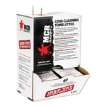 Crews Lens Cleaning Towelettes, 100/Box