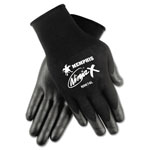 Crews Ninja X Bi-Polymer Coated Gloves, Large, Black