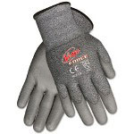 Crews Ninja Force Polyurethane Coated Gloves, Large, Silver
