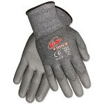 Crews Ninja Force Polyurethane Coated Gloves, Small, Silver