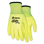 Memphis Glove Ninja Ice Gloves, 2X-Large, High Vis Lime, 1 Dozen