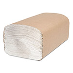 Cascades Décor Folded Towel, Single-Fold, White, 9.11 x 10.25, 250/Pack