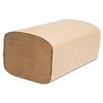 Cascades Decor Folded Towels, Singlefold, Natural, 8 x 10 1/4, 250/Pack, 4000/Carton