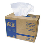 Cascades Like-Rags Spunlace Towels, White, 9 1/4 x 12 1/2, 150/Box