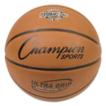 CH Rubber Sports Ball, Basketball, No. 7, Orange