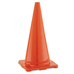 "Champion Hi-Visibility Vinyl Cones, 28"" Tall, Orange"